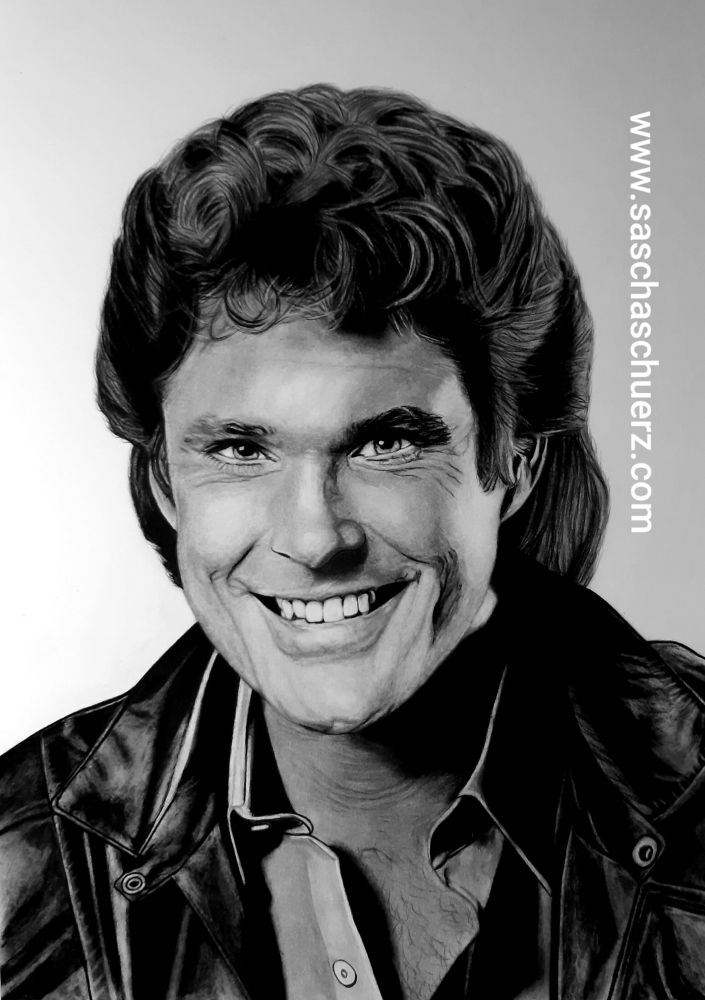 David Hasselhoff by saschaschuerz